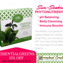 Get Ready For A Body Wrap With Essential Greens